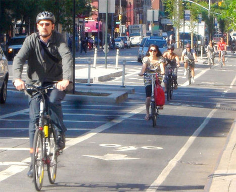 Number of Protected Bike Lanes in America Nearly Doubled in 2012 | Streetsblog.net | Digital Sustainability | Scoop.it