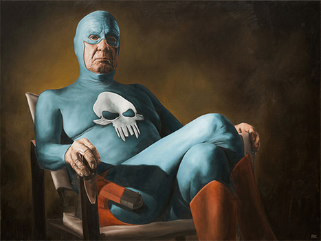 The Aging Superhero   Illustrations   Scoop.it
