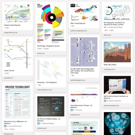200+ Infographic Resumes, an escalating trend | Social Media Follows | Scoop.it