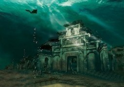 This Ancient Underwater Chinese City Is Both Haunting And Beautiful, Best Of All You Can Dive There | Forget Sleep | Scoop.it