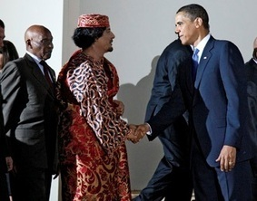 """""""Who Are you? """" »» Obama in 2011: 'No Question That Libya ...Would Be Better Off With Gaddafi Out ... - 