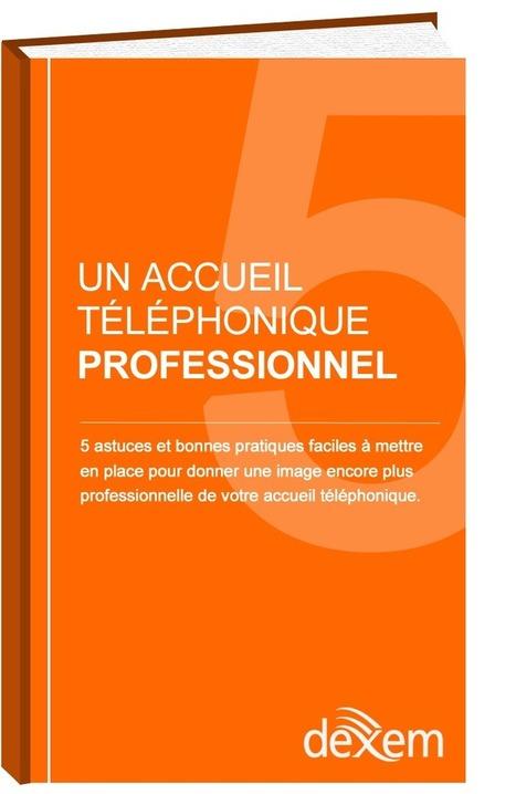 Livre Blanc - 5 astuces pour un accueil téléphonique professionnel. | Serveur Vocal Interactif | Scoop.it
