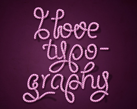 50 Excellent Text Effects Tutorials in Adobe Illustrator   Time to Learn   Scoop.it