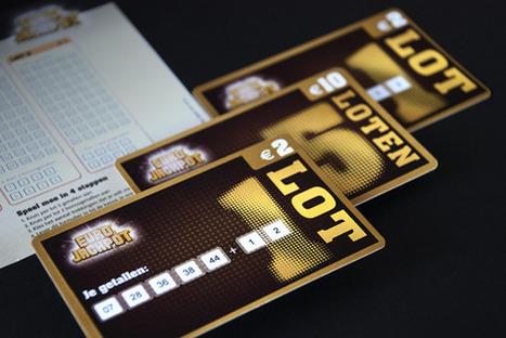 Nieuwe lottokaarten Eurojackpot   Total Public   Corporate Identity   Scoop.it