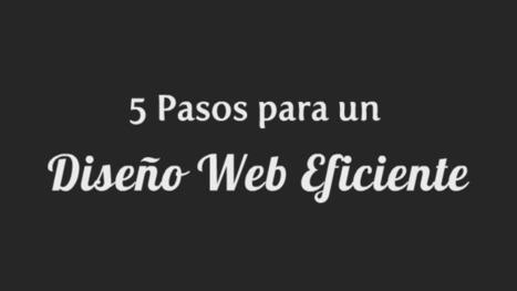 5 pasos para un diseño web eficiente (infografía)   Desarrollos Web   Scoop.it