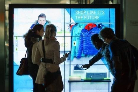 Allemagne : adidas teste un concept de vitrine interactive   Merchandising digitale   Scoop.it