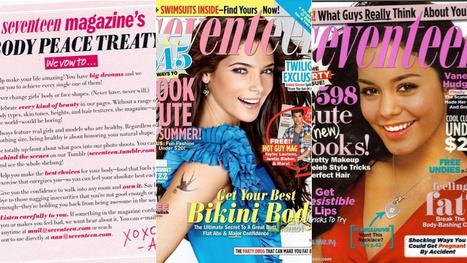 Seventeen Magazine's New Photoshop Policy Is the Same As The Old Photoshop Policy   The Effects Of Photoshop On Magazines   Scoop.it