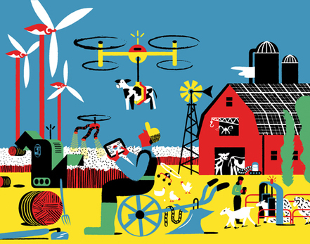 Technology Is Reshaping the Food Chain | MIT Technology Review | leapmind | Scoop.it