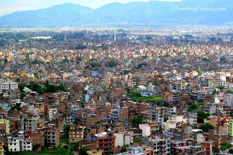 Photo of the Week: Congested Kathmandu Valley in Nepal | Nepali Architecture & Urban Planning | Scoop.it