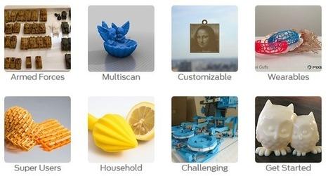 Thingiverse: diseños para impresión en 3D | Tastets de TIC I TAC | Scoop.it