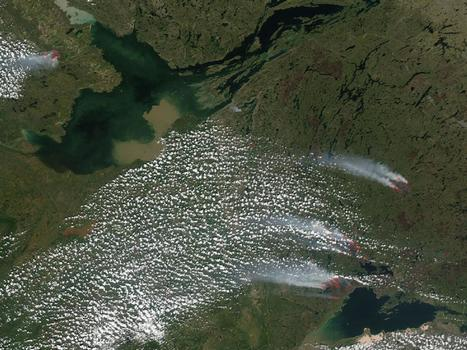 NASA - Fires in Northwest Territories, Alberta and Saskatchewan, Canada | NWT News | Scoop.it