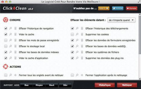Click&Clean : une extension pour nettoyer Firefox et Chrome | Le Top des Applications Web et Logiciels Gratuits | Scoop.it