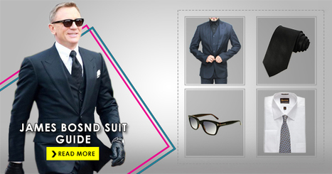 All You Need To Know Costume Guide of James Bond | celebrities suits | Scoop.it