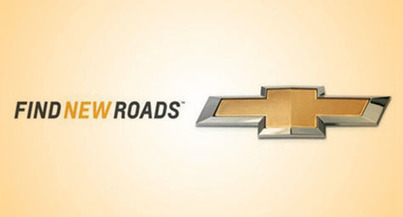 "New Chevrolet Slogan Shifts to ""Find New Roads"" 