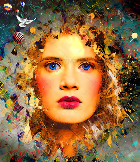 mind-blowing artistic portrait photo effects with photoshop | For the love of Photography | Scoop.it