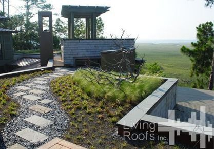 Greenroofs.com Projects - Private Kiawah Island, SC Residence | Vertical Farm - Food Factory | Scoop.it