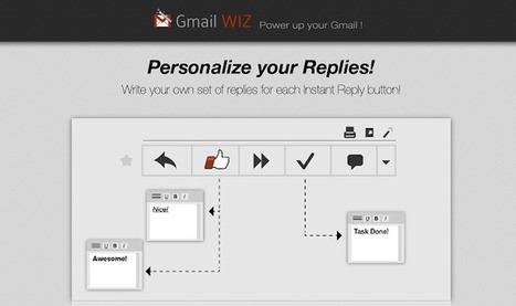 GmailWiz, extensión de Chrome para automatizar respuestas en Gmail | Tips&Tricks | Scoop.it