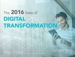 The 2016 State of Digital Transformation | Museums and emerging technologies | Scoop.it