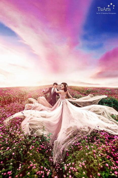 Cách kết hợp trang phục để có ảnh cưới ngoại cảnh đẹp? | Sức khỏe và cuộc sống | Scoop.it