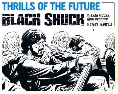 An Interview with Leah Moore & John Reppion - Black Shuck coming soon to 2000AD | Creating Comics | Scoop.it