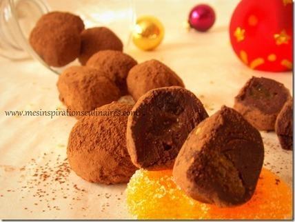 Truffes au chocolat noir | Recettes de fetes | Scoop.it