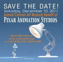 Spend the day at Pixar Animation Studios: Annual Cartoon Art Museum Benefit - Event registration by Guestlist | Animation | Scoop.it