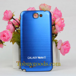 Brushed Metal Housing Battery Back Cover Case With Black Frame For Samsung Galaxy Note 2 II N7100   here are some good goods form tobuygoods   Scoop.it