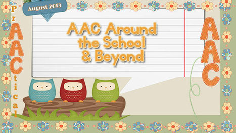 AAC Around the School & Beyond! | Communication and Autism | Scoop.it