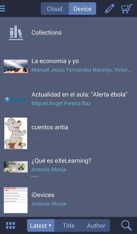 La nueva versión de eXeLearning permite exportar a ePub3 | Blog de INTEF | Educación a distancia, | Scoop.it