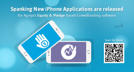 Agriya launched its amazing Crowdfunding pledge and equity iPhone app | Kickstarter Clone Script, kickstarter clone, kickstarter software,kickstarter platform | Scoop.it