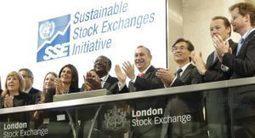 Los mercados de valores y la sostenibilidad | Inversión Socialmente Responsable (ISR) | Socially Responsible Investing (SRI) | Scoop.it