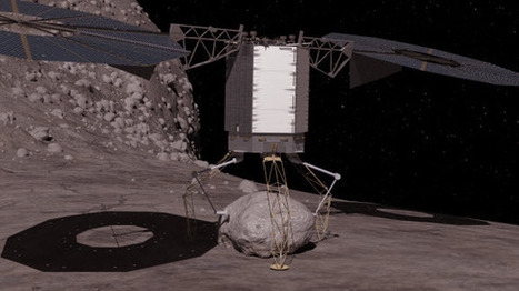 NASA Releases Animation of Mission to Capture a Boulder From Asteroid's Surface | Machinimania | Scoop.it