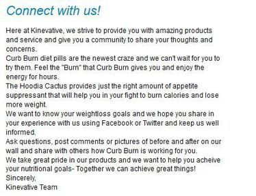 Burn More Calories, Lose Fat, Natural Appetite Suppressant - Curb Burn | facebook | Scoop.it