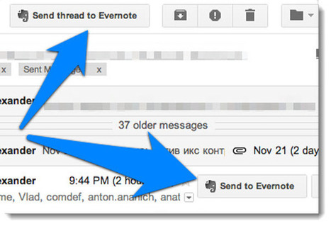 Everbot integra fácilmente Gmail con Evernote | EDUDIARI 2.0 DE jluisbloc | Scoop.it