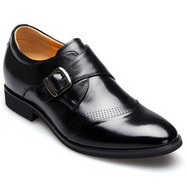 Black / Brown Men Height Inceasing Dress Shoes extra height 7cm / 2.75inch | Elevator shoes for men | Scoop.it