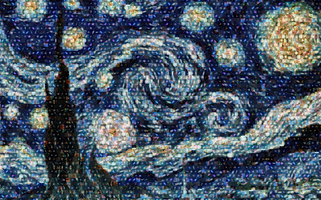 Take 100 NASA Photos, Stir, Make Van Gogh's 'Starry Night' | NYL - News YOU Like | Scoop.it