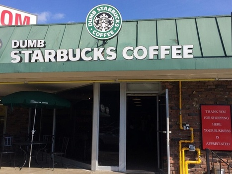 'Dumb Starbucks' In Los Angeles Tests Parody Laws As Coffee Lovers Laugh | Tracking Transmedia | Scoop.it