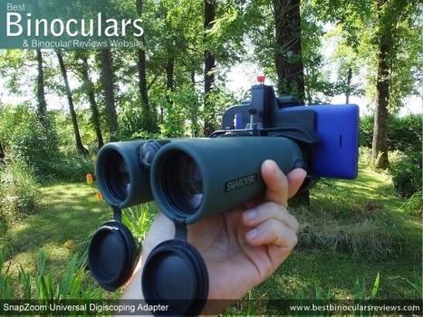 SnapZoom Universal Digiscoping Adapter Review | World of Optics | Scoop.it
