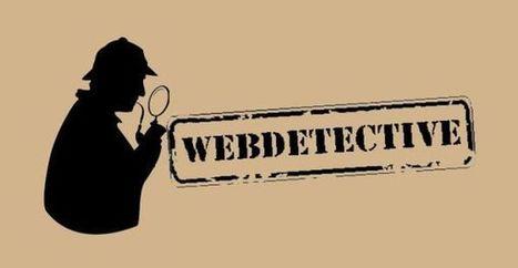 Met de Webdetective kritisch leren kijken naar informatie op het web | Manssen.nl ~ Vanaf de Zijlijn... | Kijken hoe dit gaat | Scoop.it