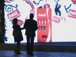 Coke Creates Virtual Vending Machine That Only Appears for Couples | Coca-Cola® News | Scoop.it