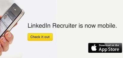 Pourquoi Linkedin pousse (vraiment) les recruteurs vers le recrutement mobile ? | Altaïde | LGL LIFESTYLE | Scoop.it