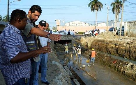 Alcaldía construye canal de drenajes pluviales en El Bosque | Cartagena de Indias - 4º edición de boletín semanal | Scoop.it