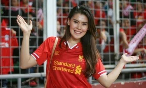 Liverpool FC Hot Girl | EMass | Scoop.it