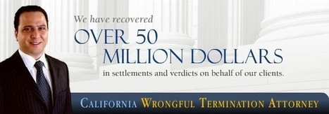 Setareh Law Group: Los Angeles Wrongful Termination Attorneys | wrongful termination | Scoop.it