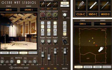 Universal Audio Releases Ocean Way Studios, SPL TwinTube, Sonnox Oxford Inflator Plug-Ins   New Features in Softwares   Scoop.it
