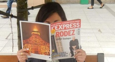 L'Express dédie sa Une à l'effet Soulages   L'info tourisme en Aveyron   Scoop.it