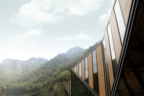 Chine, Tianmen Mountain Restaurant à Guilin par le studio d'architecture Chongxiao Liu | Architecture et montagne | Scoop.it