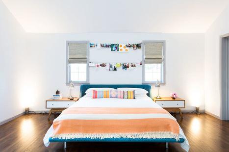 8 astuces pour mettre en scène vos images préférées au-dessus du lit | Habitat intérieur | Scoop.it