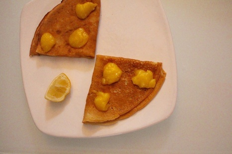 Crêpes au lemon curd  -  Virginie B le blog lifestyle | Food sucré, salé | Scoop.it