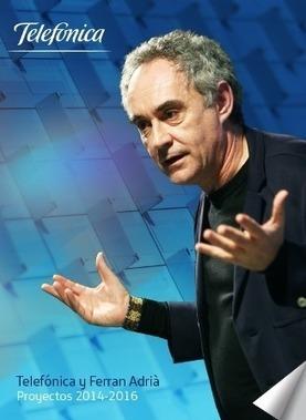 Telefónica y el chef Ferran Adrià renuevan su alianza para vender ... - Revista de Arte - Logopress   Belleza   Scoop.it